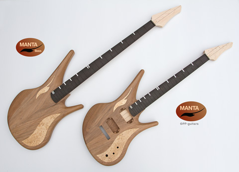 manta bass and guitar